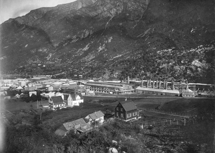 Alby United Carbide Factory i Odda 1915-1924